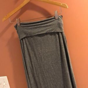 Max Studio Fold Over Maxi Skirt Size Med